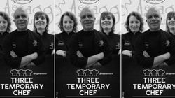 Three Temporary Chef, menù diverso stesso