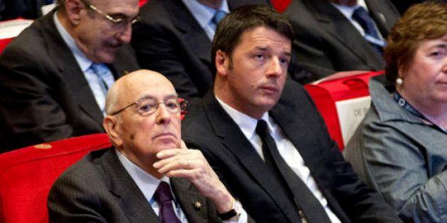 80 euro - Giorgio Napolitano garantisce per Renzi: convoca Padoan, poi firma il decreto