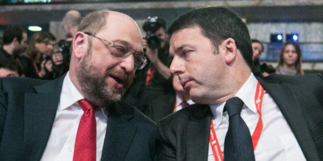 Pse, Martin Schulz il meno renziano tra i candidati: nella prima vera campagna elettorale del Pd di