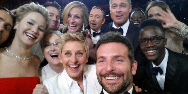 Ellen De Generes, il suo selfie su Twitter è il più condiviso nella storia dei social