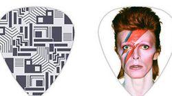 Puoi permetterti il plettro di David Bowie?