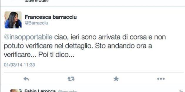 Francesca Barracciu sottosegretario, gaffe su twitter sulle deleghe: