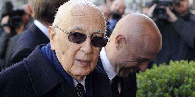 Giorgio Napolitano e Matteo Renzi all'Aisi: al centro dell'incontro la situazione in Crimea