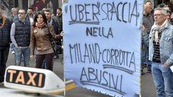Lo sciopero dei tassisti contro Uber è comunque