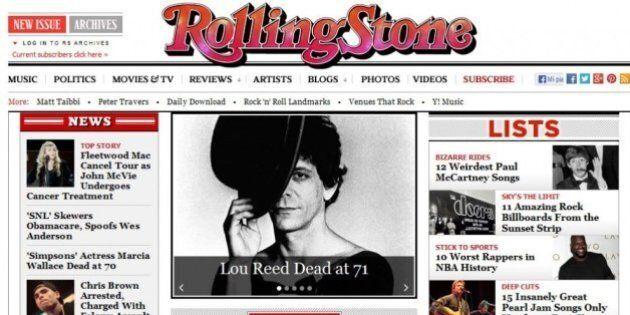 Lou Reed è morto. La notizia sui giornali stranieri