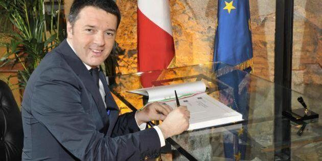 Matteo Renzi scrive ai sindaci: