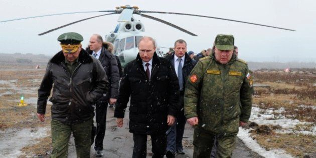 Crisi Ucraina, Vladimir Putin: