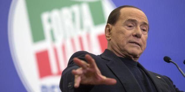 Europee 2014, Silvio Berlusconi chiude la campagna elettorale a Roma: