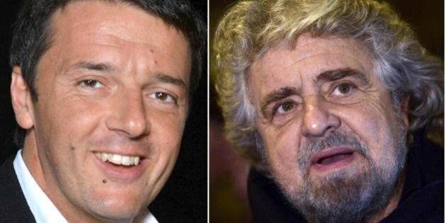 Elezioni europee 2014, gli scommettitori credono in Beppe Grillo: quotato 1,90 contro 1,95 di Matteo...