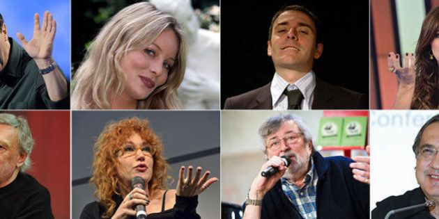 Elezioni Europee 2014, per chi votano i vip: Alba Parietti per Matteo Renzi, Dario Fo per Beppe Grillo...