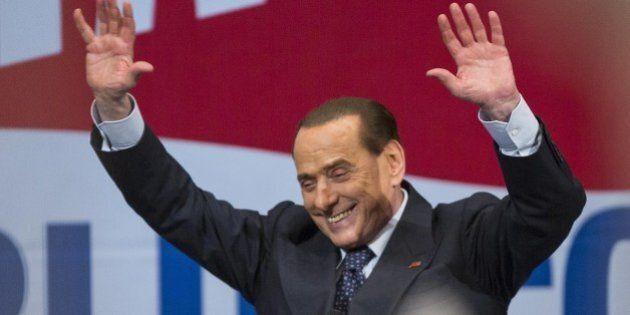 Europee 2014, Silvio Berlusconi chiude la campagna elettorale a