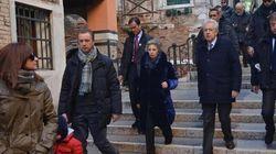 Mario Monti a Venezia, raffinata pensione a tre stelle e pranzo in osteria