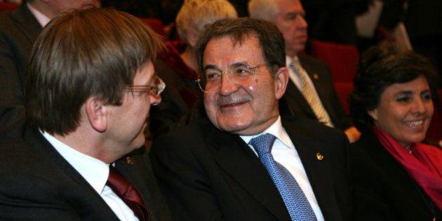 Romano Prodi, quattro giorni dopo il congresso Pse, battezza la lista dei liberali: