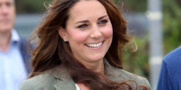Kate Middleton la prima apparizione in pubblico dopo la nascita del principino George