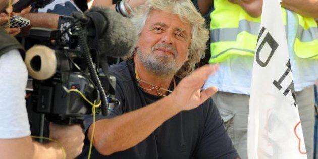 Beppe Grillo, a Parma i