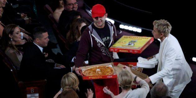 Pizza da Oscar 2014? Per il fattorino mancia da mille dollari per la consegna