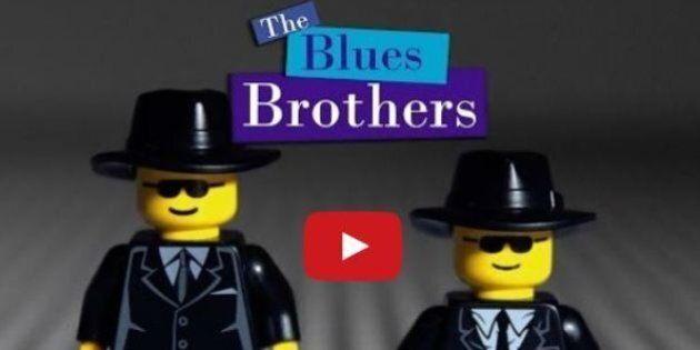 Lego e i Blues Brothers, la scena dell'inseguimento nel centro commerciale interpretata dagli omini di...