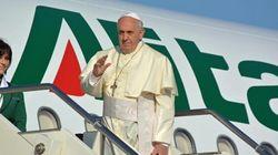 Papa Francesco partito per la Terra