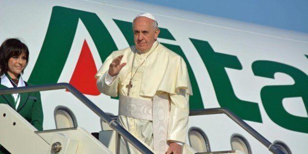 Papa Francesco è partito per il viaggio apostolico in Terra Santa. Andrà in Giordania, Palestina ed