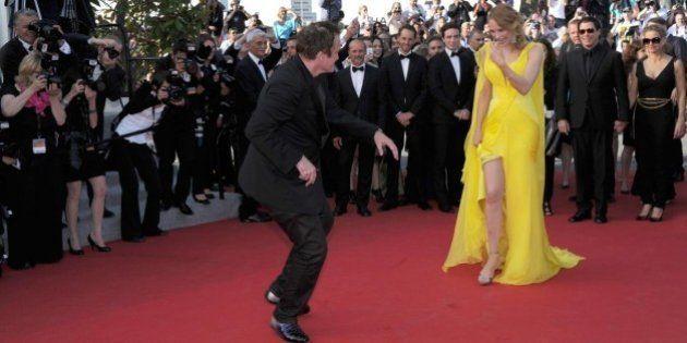 Quentin Tarantino celebra a Cannes i 20 anni di Pulp Fiction: