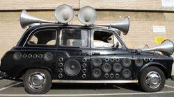Un sound taxi contro il