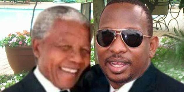Selfie con Mandela, politico keniano prende il posto di Muhammad Alì al fianco di Madiba