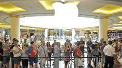 Apple apre lo store Euroma2 a Roma: tutti in coda per iPhone, iPad e Mac