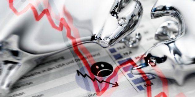Venerdì nero per le Borse del Vecchio Continente, bruciati 220 miliardi di euro in una