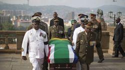 La salma di Mandela in camera ardente e