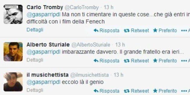 Maurizio Gasparri stronca La Grande Bellezza su twitter. Ma gli utenti insorgono: