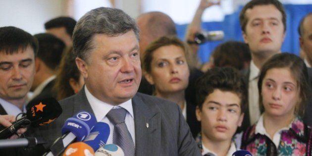 Elezioni presidenziali in Ucraina, Petro Poroshenko verso la vittoria al primo turno.