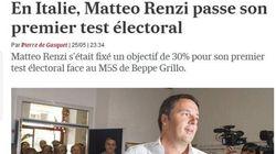 La vittoria di Renzi sulla stampa internazionale