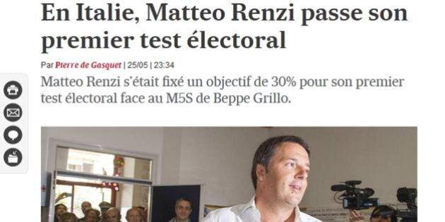 Elezioni europee 2014: la vittoria di Matteo Renzi sulla stampa internazionale