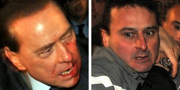 Silvio Berlusconi: assistenza agli anziani a Cesano Boscone, stesso comune dell'attentatore Massimo