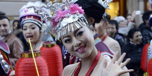 Capodanno cinese a Roma, è l'anno del cavallo. Il sindaco Ignazio Marino: