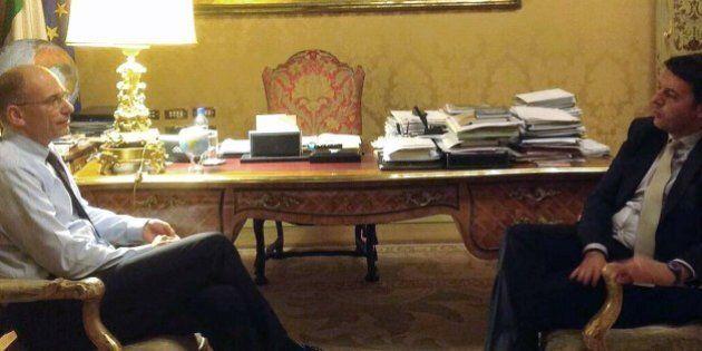 Matteo Renzi Enrico Letta, il patto per svuotare