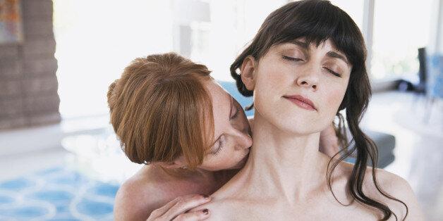 un pezzo sesso lesbico