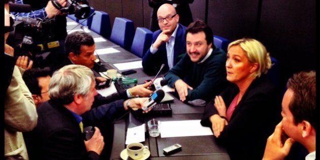 Marine Le Pen Matteo Salvini incontro:
