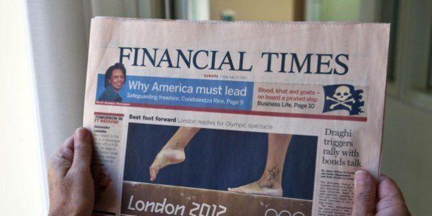 Matteo Renzi, l'endorsement del Financial Times: