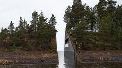 Una ferita profonda nella terra norvegese