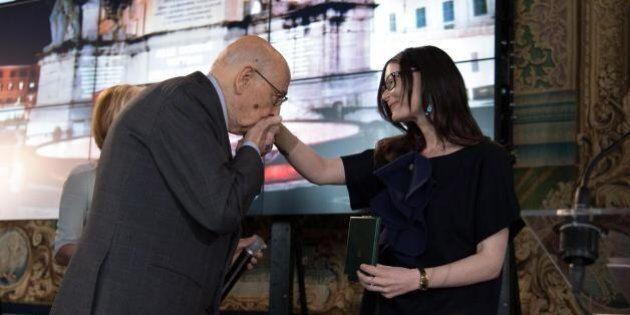 Lucia Annibali, colazione con Matteo Renzi e onorificenza al Quirinale: