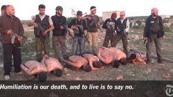 L'esecuzione a freddo: I ribelli fuciliano a freddo sette militari
