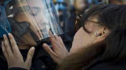 Denunciata per violenza sessuale la NoTav De Chiffre che baciò un