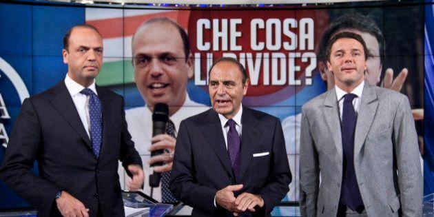 Matteo Renzi presenta il libro di Bruno Vespa insieme ad Angelino Alfano. Appuntamento la prossima