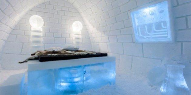 Ice Hotel in Lapponia: l'albergo di ghiaccio ha otto suite scolpite come opere d'arte