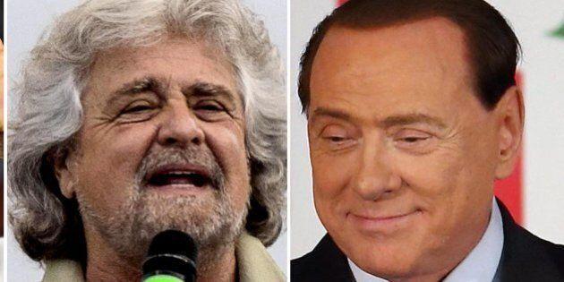 Beppe Grillo e Silvio Berlusconi negano la sconfitta. M5s: