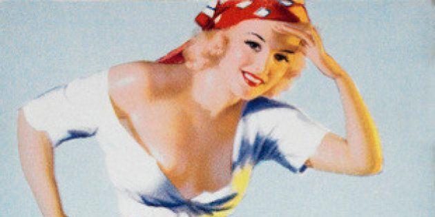 Earl Steffa Moran, tra le sue Pin-up anche Marylin Monroe. Le illustrazioni delle signorine anni '40