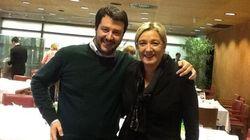 Pranzo Le Pen-Salvini per cercare unità tra gli