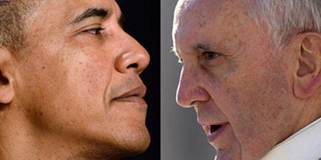 Count down del summit tra Obama e il Papa: i conti aperti tra le due superpotenze a un anno dall'elezione...