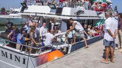 Rimini, tutti in barca per rilanciare Forza Italia